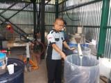 Terhitung mulai Senin 26 Oktober 2020 nanti Pabrik Aspal Karet di Muba akan mulai beroperasional dan menjadi pabrik nyata yang terealisasi di Sumatra Selatan.