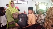 350 Siswa-siswi Terima Perlengkapan Sekolah Dari Baznas Muba