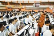 622 Peserta SKB CPNS Muba Selesai Pilih Lokasi