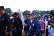 Api Obor Asian Games Nginap di Sekayu