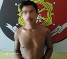 Pelaku Pembacokan Rosadi (25) Saat diamankan