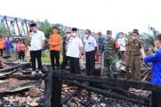 Bantuan Pemkab Muba Langsung Turun untuk Korban Kebakaran