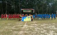 Foto bersama sebelum bertanding Laga Bayung Lencir A VS Young Fc.