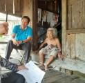 Baznaz Muba Salurkan Bantuan bagi Warga Kurang Mampu di Desa Ngulak 1