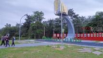Taman Perbatasan yang tepatnya berada di Desa Sukajaya, Kecamatan Bayung Lencir, Kabupaten Musi Banyuasin, Provinsi Sumatera Selatan, sehingga menjadi taman kebanggaan warga masyarakat Desa Sukajaya.