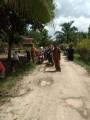 Berdayakan Warga, Desa Lubuk Harjo Bikin Saluran Drainase