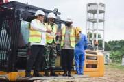 Dodi Reza di sela Ground Breaking Pembangunan Gedung RSUD Sekayu, Kamis (4/2/2021).