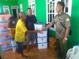 BPBD Muba Salurkan Bantuan Logistik Korban Banjir di Trans SP 3