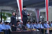 Bupati Dodi Reza Alex Pimpin langsung Upacara Hari Lahir Pancasila