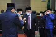 Bupati Dodi Reza Sampaikan LKPJ Tahun 2020 ke DPRD