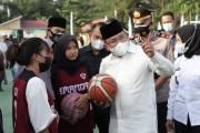 Bupati Muba DRA Bangun Sarana Olahraga Tiap Kecamatan