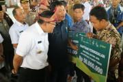 Pembukaan Forum Rembug Desa dan Bursa Inovasi Desa di Stable Berkuda Sekayu, Selasa (5/12).