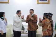 Datang Temui Bupati Dodi Reza, FKKNP Puji Program Pemkab Muba saat Pandemi covid-19