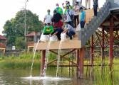 Dinas Perikanan Muba Sebar 135 Ribu Bibit Ikan