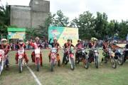 Kejuaraan Grass Track Bupati Muba Cup digelar di Kecamatan Keluang