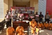 Kapolres Muba AKBP Erlin Tangjaya mengatakan, para tersangka ditangkap secara bergiliran pada Sabtu (19/9/2020)