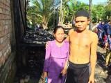 Ditinggal, Rumah Imam Masjid Ini Dilalap Api Saat Sholat Id