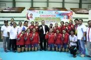DKI Jakarta Sabet Medali Emas Kejurnas Volly di Muba