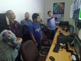 Kunjungan Tim Monitoring dan Evaluasi Dinas Kearsipan Provinsi Sumatera Selatan (Sumsel) bersama DPK Muba ketika mengunjungi Kantor Dinkominfo Muba.