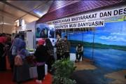 Dinas Pemberdayaan Masyarakat Desa (DPMD) Kabupaten Musi Banyuasin yang menampilkan berbagai teknologi.