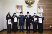 DRA Lantik Pejabat Tiga RSUD Dalam Kabupaten Muba