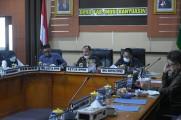 Pembahasan penjadwalan Laporan Keterangan Pertanggungjawaban (LKPJ) Bupati Musi Banyuasin Tahun Anggaran 2020