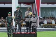 Kapolres Muba: Tidak Ada Toleransi Bagi Pihak Yang Mengganggu Jalannya Pemilu 2019