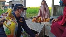 Forkopimcam Bayung Lencir Sosialisasikan Waspada Pasca Air Sungai Meluap