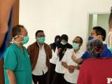 Gedung Eks Akademi Perawat (Akper) Pemkab Muba menjadi RS Darurat layanan Covid-19 dalam rangka percepatan persiapan antisipasi lonjakan kasus infeksi di Muba.