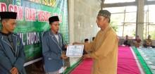 Wisuda Perdana Juz 30 Alqur'an Santri di Pondok Pesantren (Ponpes) Nurul Huda desa Kasmaran 5 November 2018 pukul 01.30 wib di Masjid Al-Maghfiroh.