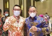 Gubernur Jabar Ridwan Kamil Terpilih Aklamasi Ketum ADPM, Dodi Reza Ucapkan Selamat