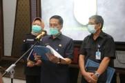 Surat Edaran ditandatangi langsung Gubernur  Herman Deru tersebut sesuai dengan Intruksi Mendagri.