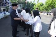 Jalin Silahturahmi Bersama Pegawai, Bupati Dodi Reza Gelar Halal Bihalal