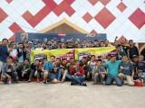 Terpantau ratusan sporter tak hanya dari Kecamatan Sekayu, bahkan dari kecamatan terdekat juga hadir ikut meramaikan.
