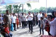 Kunker ke Sanga Desa, Dodi Hadiri Khitanan Massal