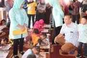 Jumputan Gambo dan Kearifan Lokal Muba Dijadikan Tema Lomba Melukis