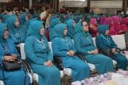 Imelda Hadiri Pelantikan TP PKK 7 KabupaSusiten/Kota