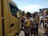 Kapolres Muba Dampingi Waka Polda Sumsel Tinjau Arus Mudik Jalan Sumatera