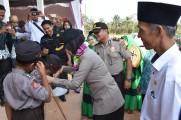 Kapolres Muba Menghadiri Kegiatan Tatap Muka Dengan Warga Kecamatan Lais