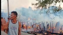 Kebakaran Hebat Hanguskan Lima Rumah Di Desa Epil