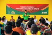 Keluang Tuan Rumah Turnamen Sepakbola Bupati DRA Cup 2019, Total Hadiah Puluhan Juta