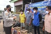 Kunjungi Korban Kebakaran, Kapolres Muba dan Jajaran Berikan Bantuan