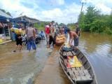 Langganan, Sungai Meluap Genangi Rumah Warga Di Bayat