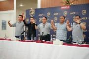 Muba Babel United siap tempur hadapi Liga 2 musim 2020. Klub berjuluk Laskar Ranggonang ini dilaunching di Pendopoan Bupati Kabupaten Musi Banyuasin (Muba), Sekayu, Kamis (12/3/2020) siang.