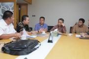 Direktur Kemahasiswaan Kemenristekdikti, Dr Didin Wahidin saat menerima Audiensi Wakil Bupati Musi Banyuasin (Muba) Beni Hernedi serta Pengurus Yayasan Politeknik Sekayu di Kantor Kemenristekdikti Jakarta, Jum'at (28/6/2019).