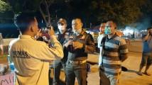 Marko Susanto Turun Langsung Berikan Himbauan Dan Penertiban Pedagang Kaki Lima Disekitaran Lapangan Gelanggang Remaja Sekayu