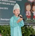 Lomba Bercerita Tingkat SD/MI Se-Muba, Kamis (21/03/2019)