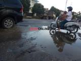 Minim Drainase, Jalan Ini Sering Digenangi Air