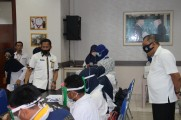Minimalisir Penularan COVID-19, Dikbud Muba Rapid Test Seluruh Staf