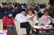 Musyawarah Kerja Kepala Sekolah (MKKS) SMP dan SMA bersama Dinas Pendidikan Kabupaten Musi Banyuasin menggelar halal bihalal bertempat di Aula SMAN 2 Unggul Sekayu (20/06/2019).